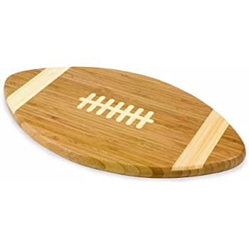 TOSCANA - a Picnic Time Brand Touchdown! Bamboo 16-Inch Cutting Board