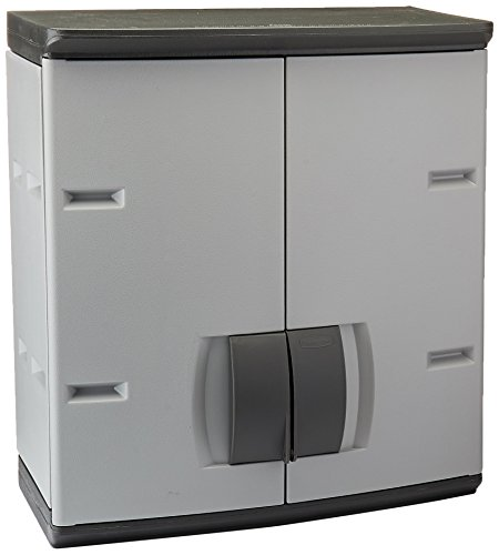 Rubbermaid Garage Cabinets (Rubbermaid Resin Storage Cabinet (FG788800MICHR))