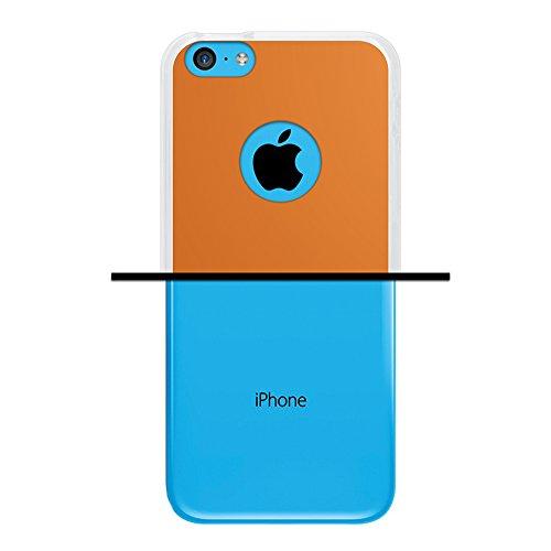 WoowCase Hülle Case für { iPhone 5C } Handy Cover Schutzhülle Schnurrbart