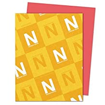 Wausau Paper Products - Wausau Paper - Astrobrights Colored Card Stock, 65lb, Rocket Red, Letter, 250 Sheets/Pack - Sold As 1 Pack - The brightest colored paper available. - Guaranteed performance in laser and inkjet printers. - Durable and heavyweight. - Acid-free. - Ideal for color-coding, menus, posters and more. by Wausau