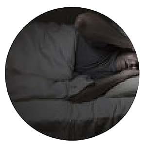 alfombrilla de ratón Hombre maduro que tiene problemas para dormir - ronda - 20cm