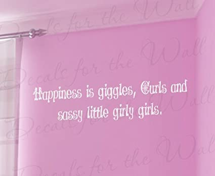 Amazon.com: Happiness is Giggle Curl and Sassy Little ...