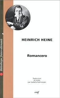 Romancero par Heinrich Heine