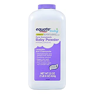 Equate Pure Cornstarch Baby Powder With Lavender and Chamomile, 22oz by Judastice
