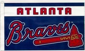 MLB Atlanta Braves Flag (3-by-5 foot)