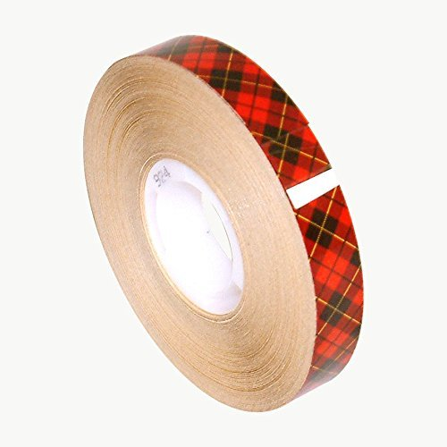 (3M Scotch 924 ATG Tape: 1/2 in. x 36 yds. (Clear Adhesive on Tan Liner))