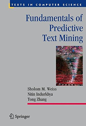 Fundamentals of Predictive Text Mining (Texts in Computer Science)