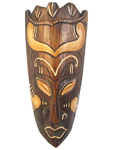Pathmaker, African Tribal Wooden Mask, Hand Carved in Bali, 8