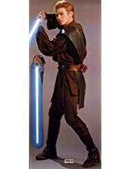 Star Wars Episode 11 - Attack Of The Clones 74X33 Anakin Skywalker Hayden Christensen Poster