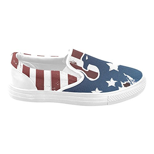 M-story American Eagle Mens Slip-on Scarpe Di Tela Moda Sneaker