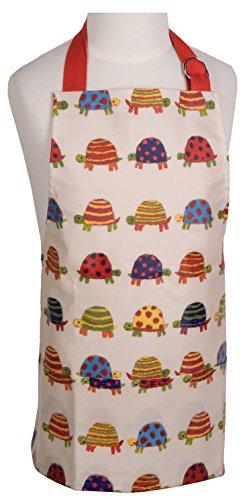 Now Designs Kid's Laminated Apron, Tiny Tortoise (Kids Laminated Apron)