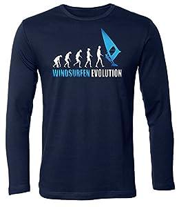 WINDSURFEN EVOLUTION 626(HL-N-Weiss-Blau) Gr. L