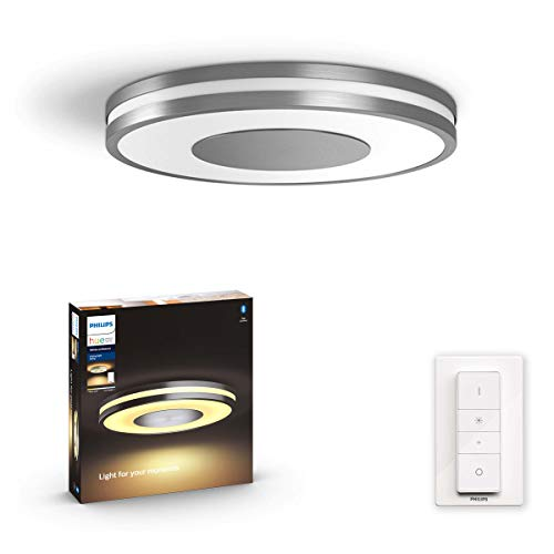Philips Hue Being plafondlamp – Duurzame LED Verlichting – Warm tot Koelwit Licht – Incl. dimmer switch – Verbind met…