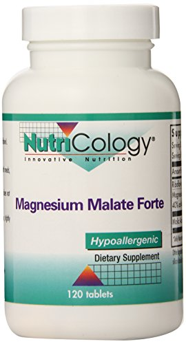 Nutricology Magnesium Malate Forte,120 Tablets Magnesium Malate 120 Tabs