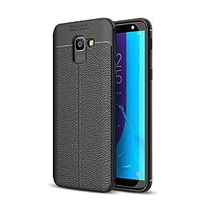 EDGEKART® Auto Focus Back Cover for Samsung Galaxy A8 Plus (Black)