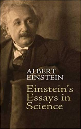 Amazoncom Einsteins Essays In Science  Albert  Einsteins Essays In Science Dover Edition