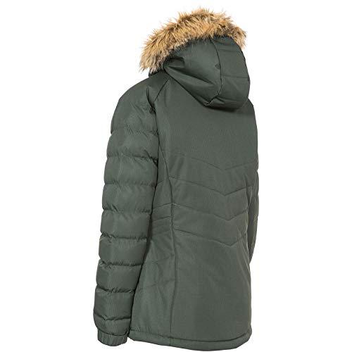 Breathable Rose Coat Olilve ladies Antique Hooded Waterproof Nadina Trespass Womens Jacket Zvqgx7I7