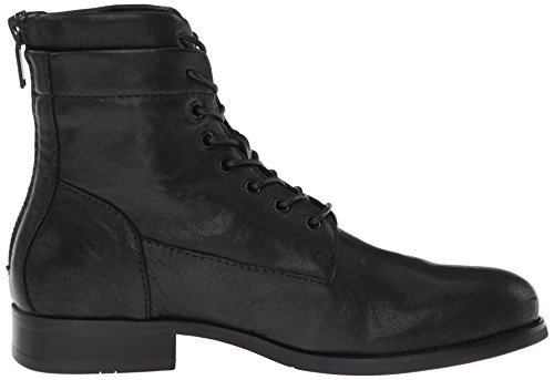 Kenneth Cole New York Mens Abbassa Lo Stivale Da Combattimento Nero