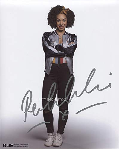 PEARL MACKIE as Bill Potts - Doctor Who GENUINE AUTOGRAPH
