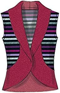 4-6 -MED -SML 8-10 McCalls Patterns 7254 Y,Misses Cardigans,Sizes XSM 12-14 X Small-Medium Y Paper