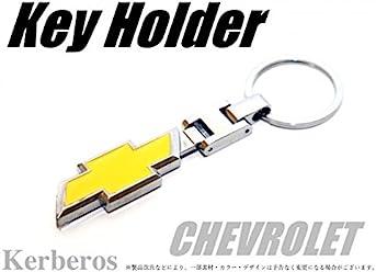 CHEVROLET キーホルダー 両面ロゴ 【AK-KEY-062】