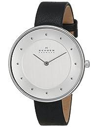 Skagen Women's SKW2232 Gitte Quartz 2 Hand Stainless Steel Black Watch