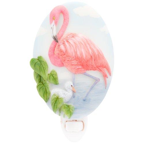 Ibis & Orchid Flamingo Night Light #50175