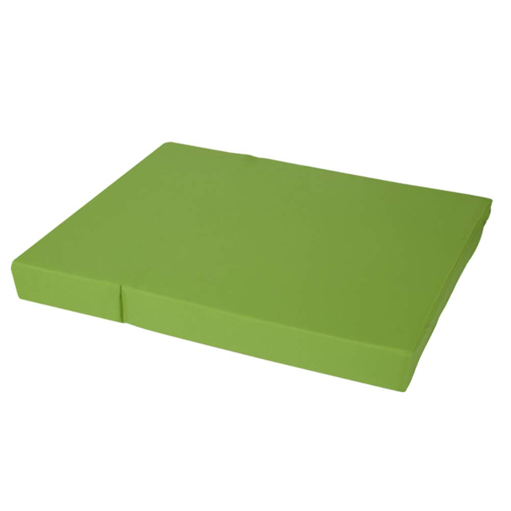 GREEN Pet Stairs Folding Pet Stairs Pet Sleeping Mat 2-Steps Cats Bed Sofa Dog Steps Tall Bed Washable Cover Nonslip Pet Ladder (color   Green)