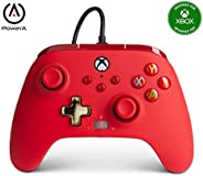 PowerA Enhanced Wired Controller for Xbox - Red, Gamepad, Wired Video Game Controller, Gaming Controller, Xbox