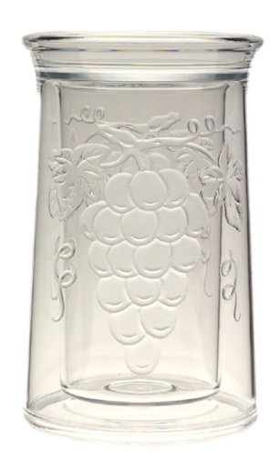 Jubilee Acrylic Embossed Grape Iceless Wine (Embossed Grape Acrylic)