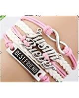 Justin Bieber belieber Multi Strap charm bracelet with JB Special Gift Box