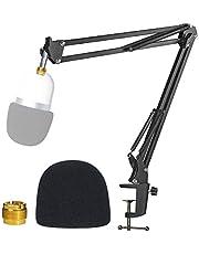 Razer Seiren Mini Boom Arm Stand met Pop Filter - Microfoon Stand met Foam Cover Voorruit Geschikt voor Razer Seiren Mini Streaming Microfoon van YOUSHARES