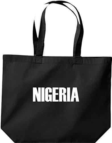 große Bolsa de compra, NIGERIA Land PAÍSES Fútbol negro