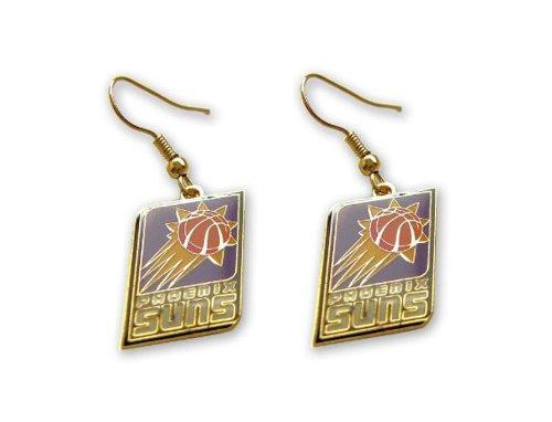 Phoenix Suns Earring (Phoenix Suns Dangle Logo Earring Set Nba Charm Gift)