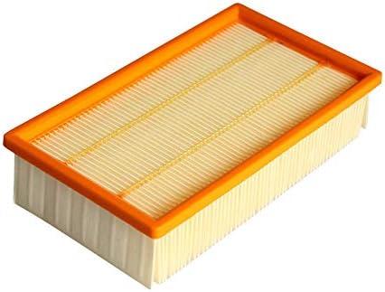 RETYLY Aspirador de Filtro de Aire para Karcher Nt25 / 1 Nt35 / 1 Nt45 / 1 Nt55 / 1 Nt361 Eco Nt561 Eco Nt611 Eco Filtros de Repuesto: Amazon.es: Hogar