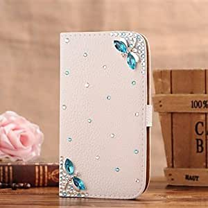 ZX Samsung S5 I9600 compatible Special Design/Diamond Look PU Leather Full Body Cases/Cases with Stand