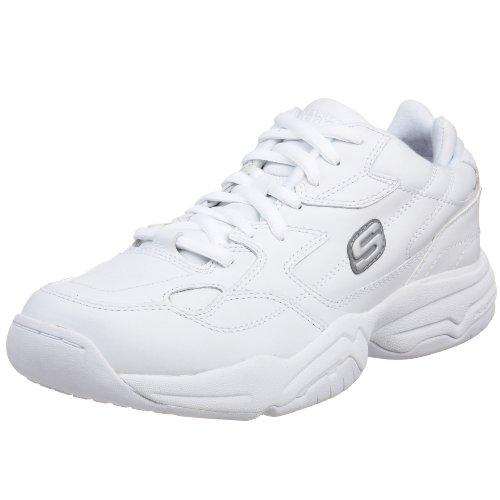 Skechers For Arbeid Menns 76690 Keystone Sneaker Hvit