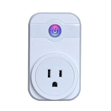 Enchufe De Wifi Conector Inalámbrico Inteligente Casero Del Enchufe Del Enchufe De Alexa Conector Inalámbrico Del