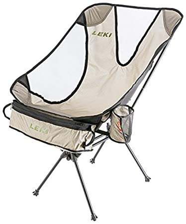 Amazon.com: LEKI Chiller – Silla plegable, Plateado, talla ...