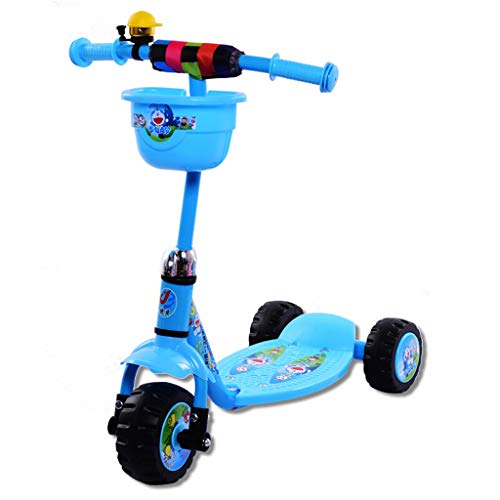 Children's Scooter Scooter Three-Wheeled Stroller Frog Car T