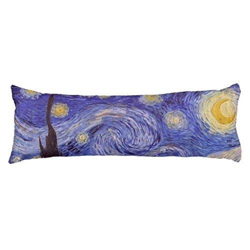 Himoud Vincent Van Gogh Starry Night Vintage Fine Art Body P