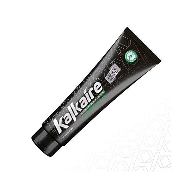 Antilla Health – Kalkaire Dentifrice vegan au charbon actif naturel sans fluor pour blanchiment et hygiène bucco…