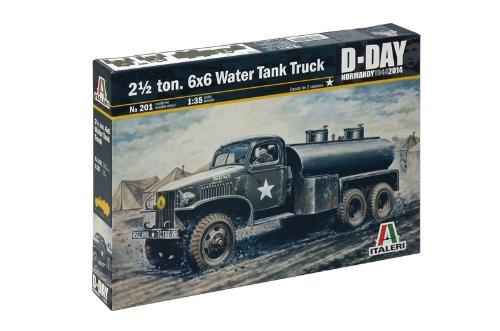 Italeri 2 1/2 Ton 6x6 Water Tank Truck