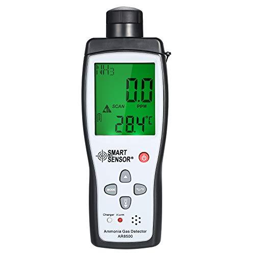 Fesjoy Ammonia NH3 Detector Digital Air Quality Monitor Meter and Analyzer Portable Automotive Gas Tester Monitor