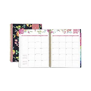 "Day Designer for Blue Sky 2018 Weekly & Monthly Planner, Twin-Wire Binding, 8.5"" x 11"", Peyton Navy"