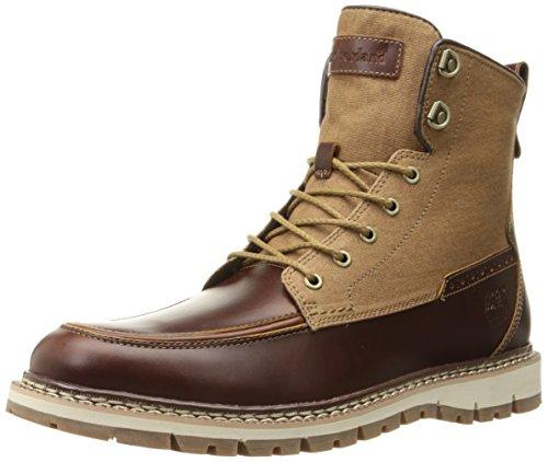 UPC 888658979882, Timberland Men's Britton Hill Boot, Medium Brown Full Grain/Wax Canvas , 12 M US