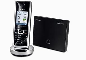 Verwonderend Siemens Gigaset SL 565, schnurloses DECT Telefon mit: Amazon.de QF-27