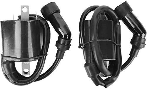 JEM/&JULES 2 Pack Ignition Coils Assembly for 1999-2009 Yamaha XVS1100 V-STAR 5EL-82320-00-00