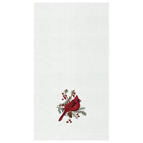 C&F Home Cardinal Hemstitch Guest Towel