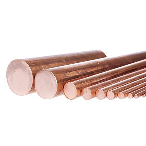 Jammas metal rod pure solid copper bars long 100mm/500mm diameter 95mm 90mm 85mm 80mm 75mm 70mm 65mm 60mm 55mm 45mm 12mm 6mm 4mm - (Diameter: 65mm X 100mm 1pc)